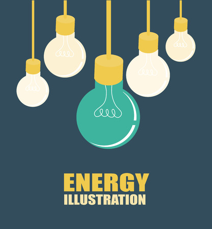 rechargeable: energy design over blue background, vector illustration