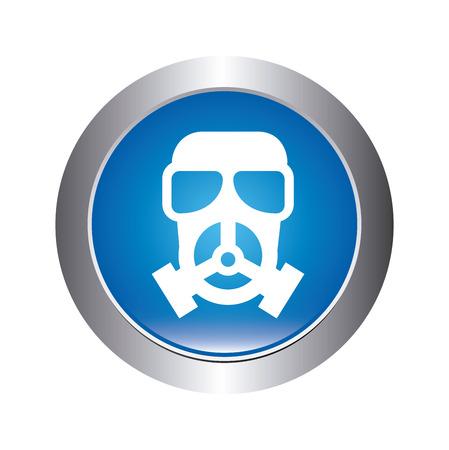 hazzard: danger zone symbol over white background, vector illustration
