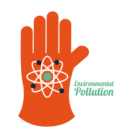 pollution design over white background,vector illustration Stock Vector - 26729046