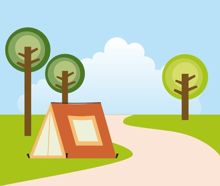 adventure design over white background, vector illustration