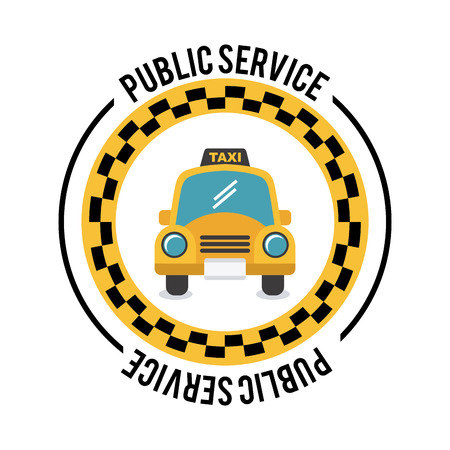 taxi design over white background,vector illustration Vector