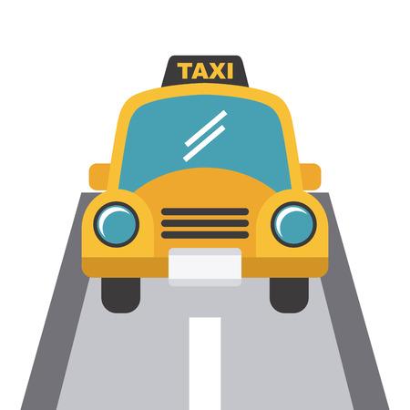 light streaks: taxi design over white background,vector illustration