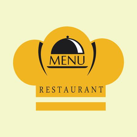 aliment: Restaurant menu design over pink background,vector illustration