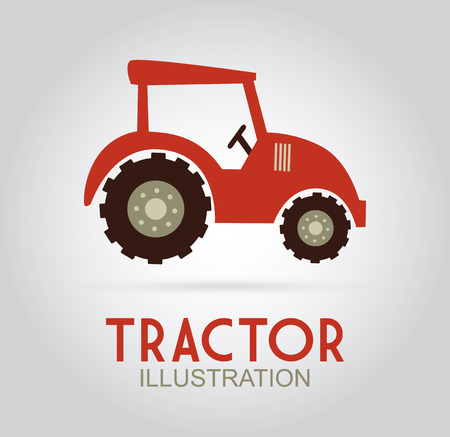 Farm design over gray background Vector