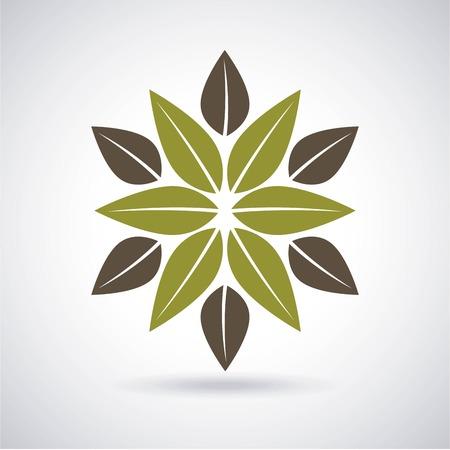 enviromental: eco design over gray background, vector illustration