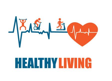 fitness trainer: Fitness design over  gray background, vector illustration