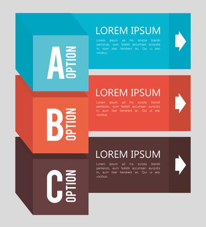 backgroud: Infographic design over gray backgroud, vector illustration