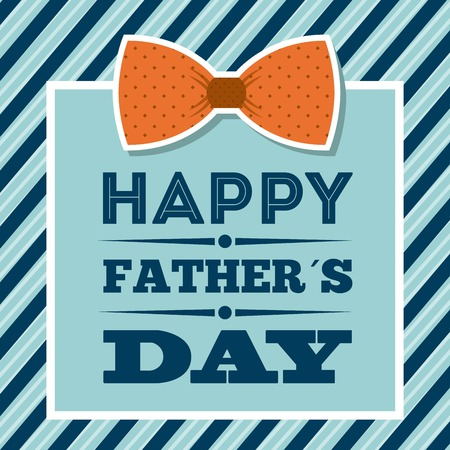 father: Fathers day design over blue background, vector illustration