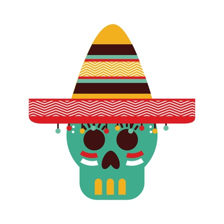 latinoamerica: Mexico design over white background, vector illustration