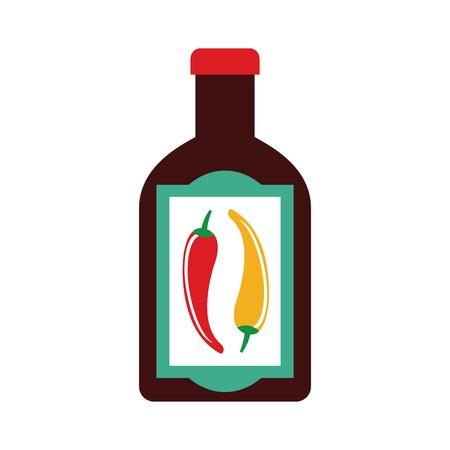 foodstuff: Foodstuff design over white background, vector illustration Illustration
