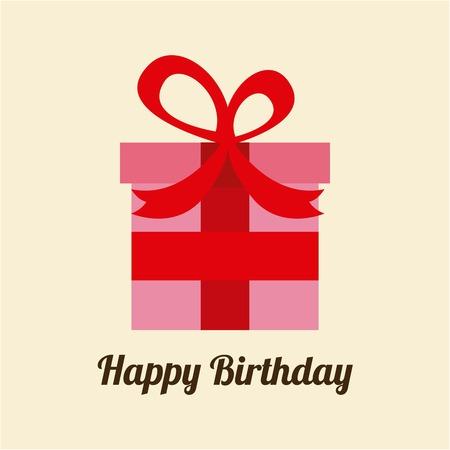 suprise: Birthday design over yellow background, vector illustration