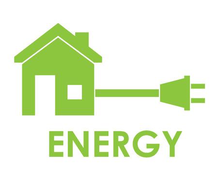 voltmeter: Energy design over white background ,vector illustration