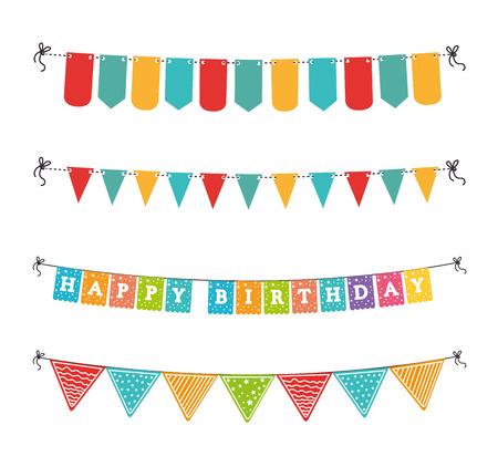 happy pregnant: Happy birthday design over white background ,vector illustration