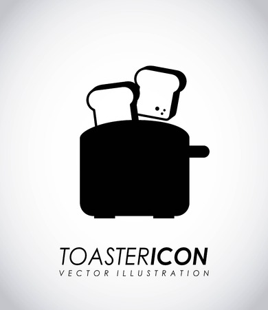 Appliances design over gray background, vector illustration Illustration
