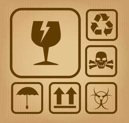 Danger design over beige background, vector illustration Stock Vector - 28552540