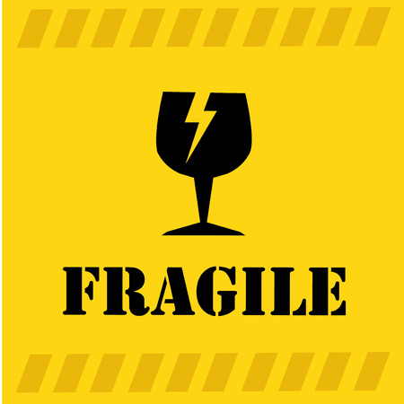 dangerous construction: Danger design over yellow background, vector illustration Illustration