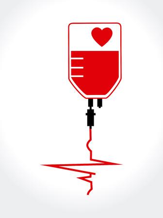 Medical design over white background, vector illustration Illustration