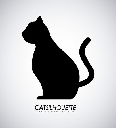 Pet design over gray background, vector illustration Vector