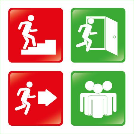 Emergency design over white background, vector illustration Vector