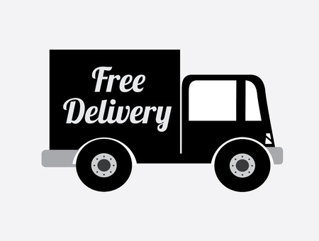 Delivery design over white background, vector illustration Stock Vector - 29282837