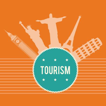 bigben: Travel design over white background, vector illustration