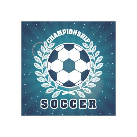 backgroud: soccer design over backgroud vector illustration