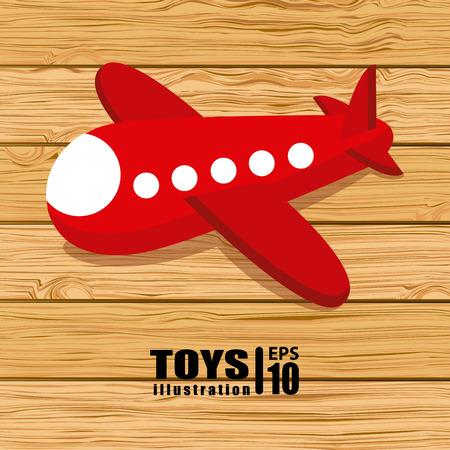 toy design over wooden background vector illustration