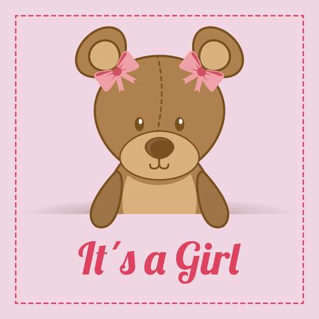toy design over pink  background vector illustration Vector
