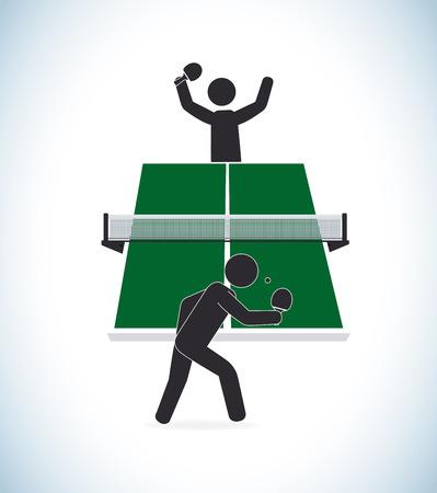 Sport design over white background, vector illustration Vector