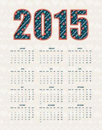 New year design over white background illustration Vector