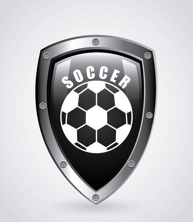 Sport ontwerp over grijze achtergrond, illustratie