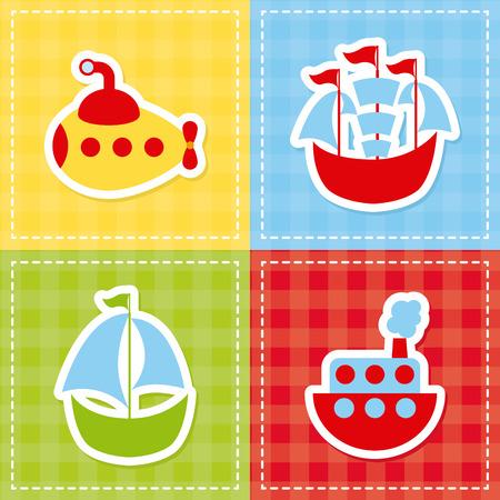 toy design over colors background illustration Vector