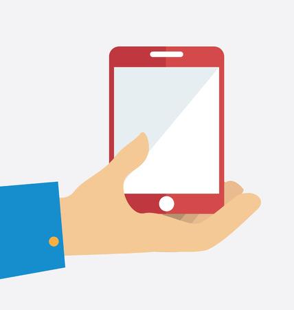 Technology design over white background, illustration Vector