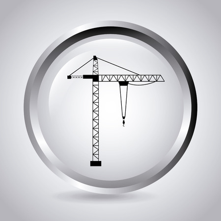 under construction design over gray  background vector illustration Stock Vector - 29761877
