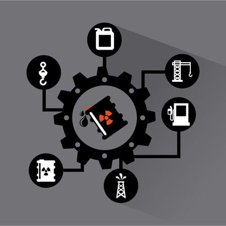 industrial design: industrial design over background vector illustration