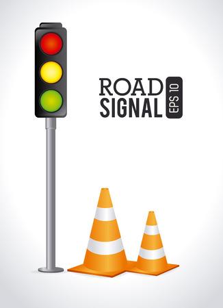 advert: Advert design over white background, vector illustration