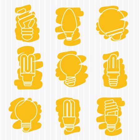smart goals: bulb design over white background vector illustration Illustration