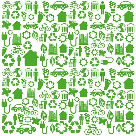 enviromental: dise�o ambiental sobre fondo blanco ilustraci�n vectorial