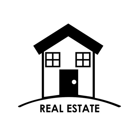 investment real state: dise�o de bienes ra�ces m�s de fondo ilustraci�n vectorial