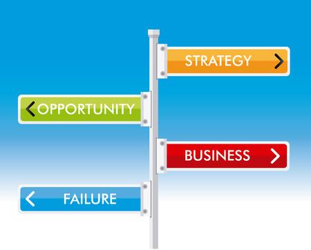 advert: Advert design over blue background, vector illustration Illustration