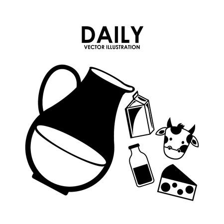 pasteurization: milk design over white background vector illustration Illustration