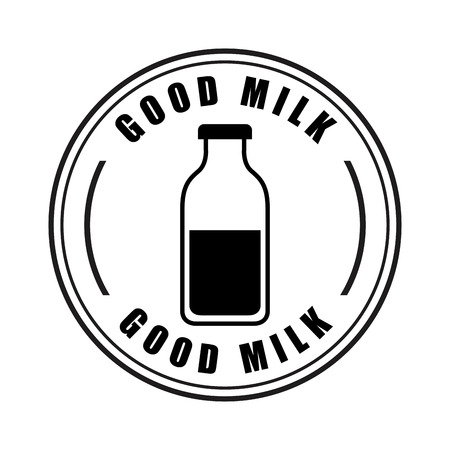 pasteurization: milk design over  white background vector illustration