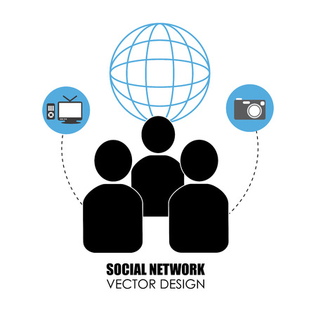 social networking: Social networking concept
