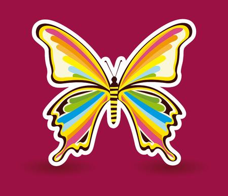 buterfly: Illustration of a butterfly Illustration