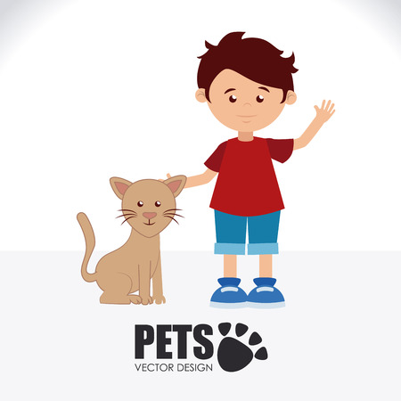 owner: Illustration of owner and pet