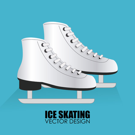 patins � glace: Illustration d'une paire de patins � glace