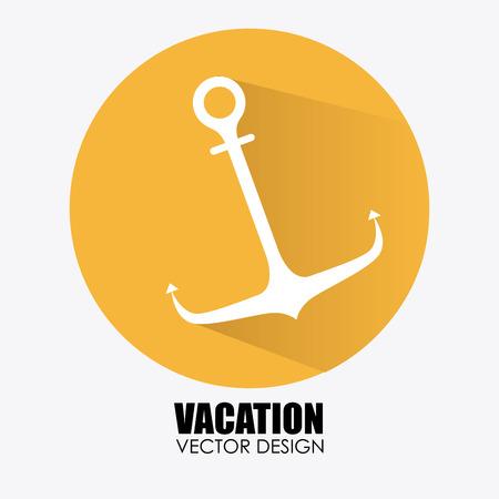 ship anchor: Illustration of a ship anchor Illustration