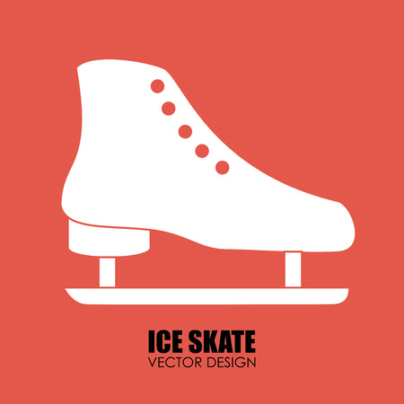 patins � glace: Illustration de patins � glace