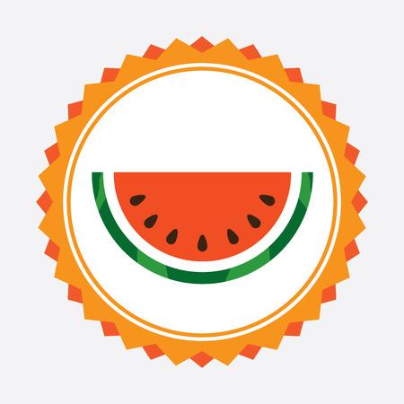 fruit design  over white  background vector illustration