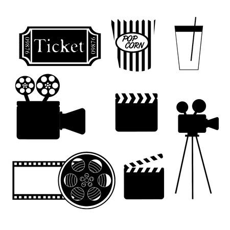 film design over white  background vector illustration Vector